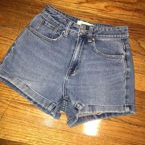 Jean Mom Shorts